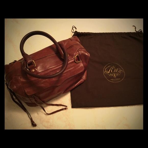 Rebecca Minkoff Handbags - Rebecca Minkoff MAB Large Satchel Bag, Burgundy